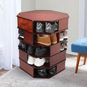 The 15-Pair Large Footwear Turntower.