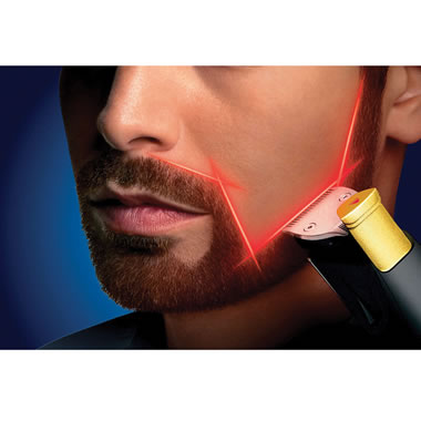 The Only Laser Guided Precision Trimmer