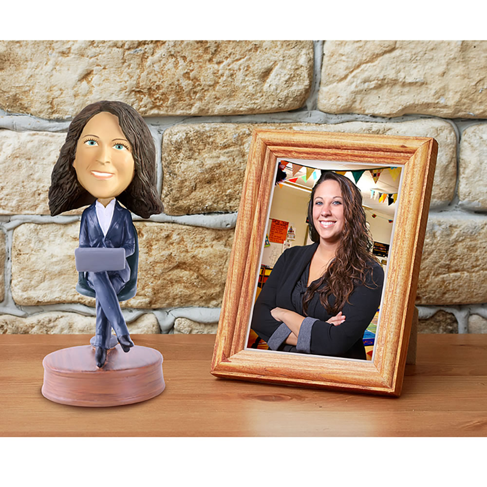 The Personalized Caricature Bobblehead 2