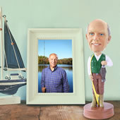 The Personalized Caricature Bobblehead.