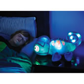 The Glowing Plush Bedtime Chameleon.
