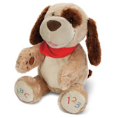 The ABC Singing Animated Plush Puppy.