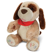 ABC Singing Animated Plush Puppy.