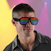 Led Array Spectacles Black