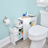 The Tight Space Bathroom Organizer.
