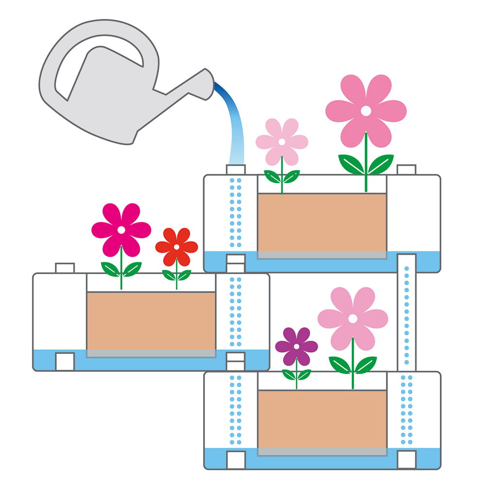 The Self Watering Modular Planters3