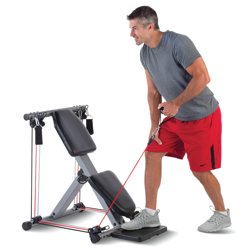 The 50 Exercise Fold Away Gym4