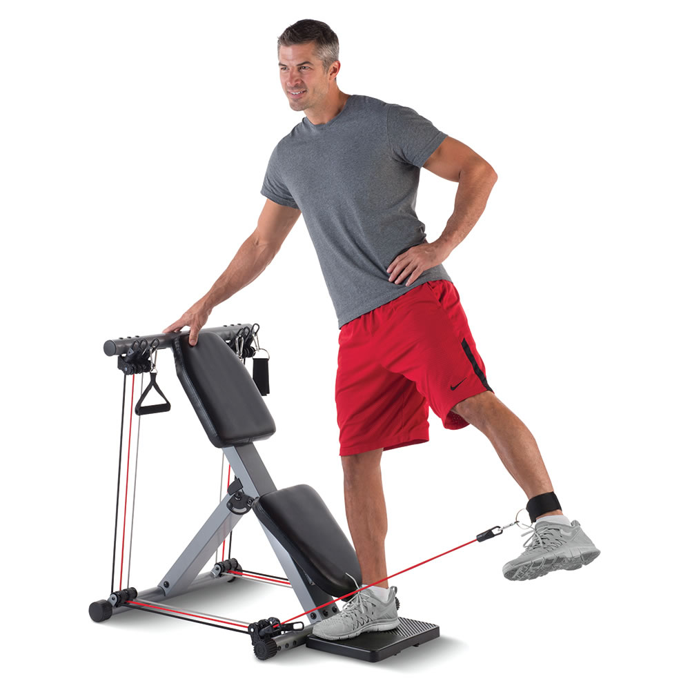 The 50 Exercise Fold Away Gym6