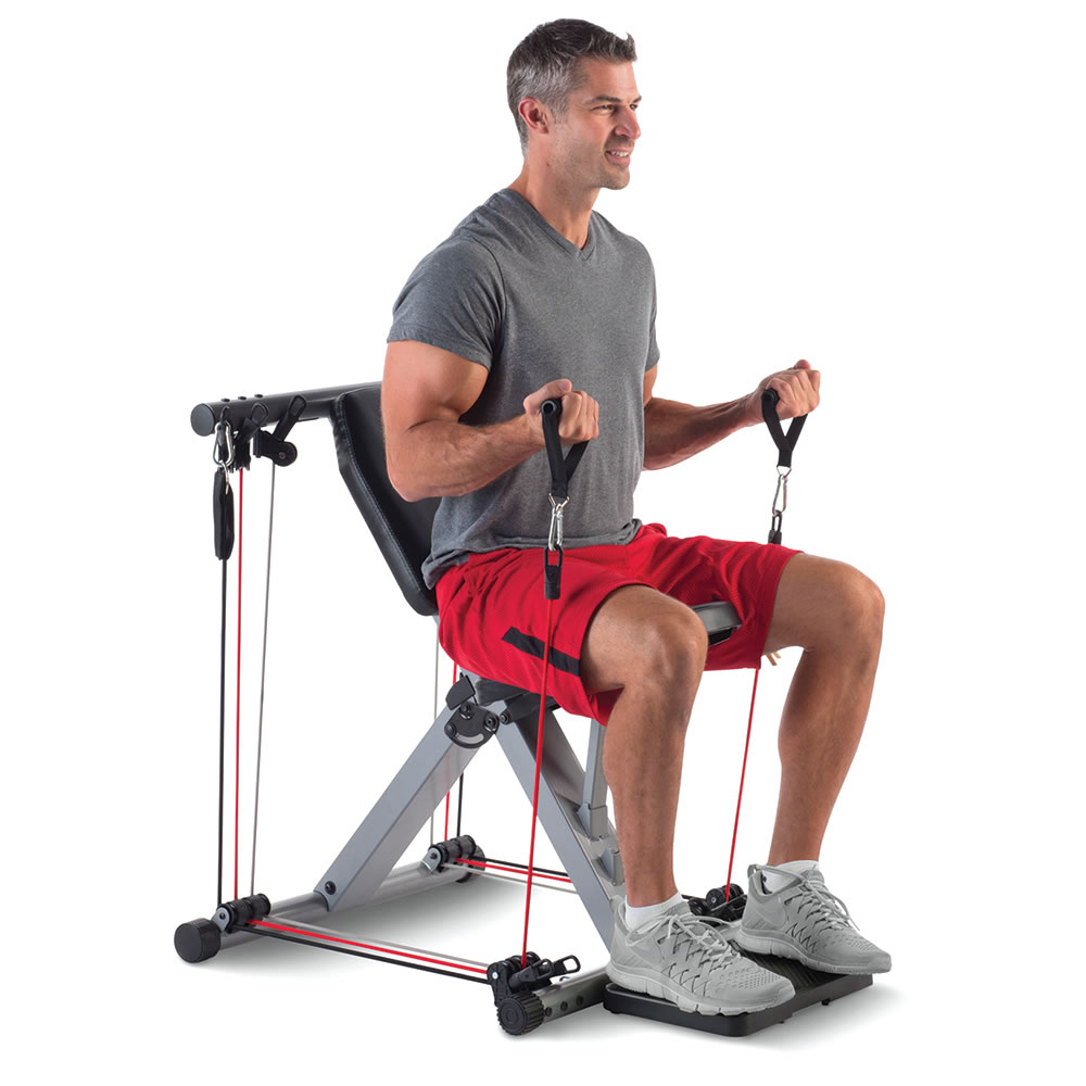 The 50 Exercise Fold Away Gym7