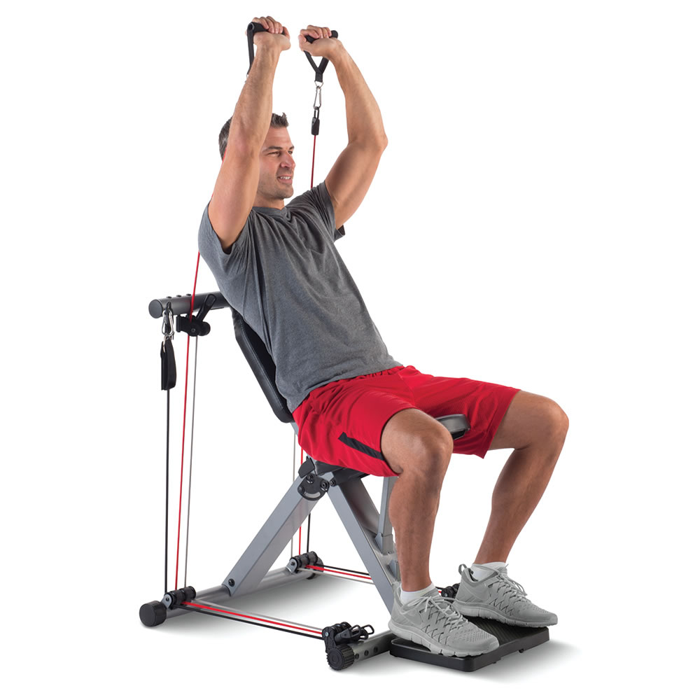 The 50 Exercise Fold Away Gym8