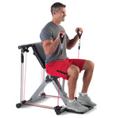 50 In 1 Fold Flat Resistance Gym