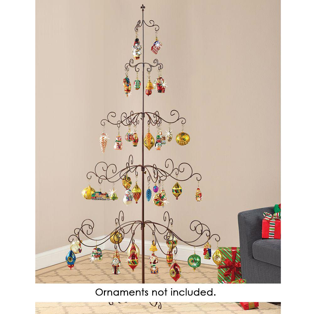 Christmas tree ornament display - The Heirloom Ornament Display Tree