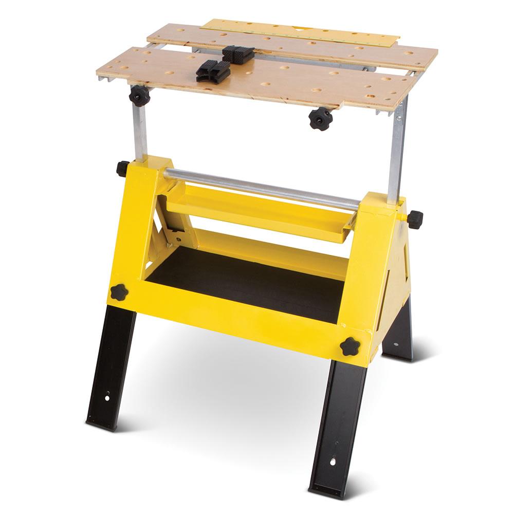 The Handyman 39 S Tool Box Work Bench Hammacher Schlemmer