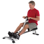 The Foldaway Adjustable Resistance Rowing Machine.