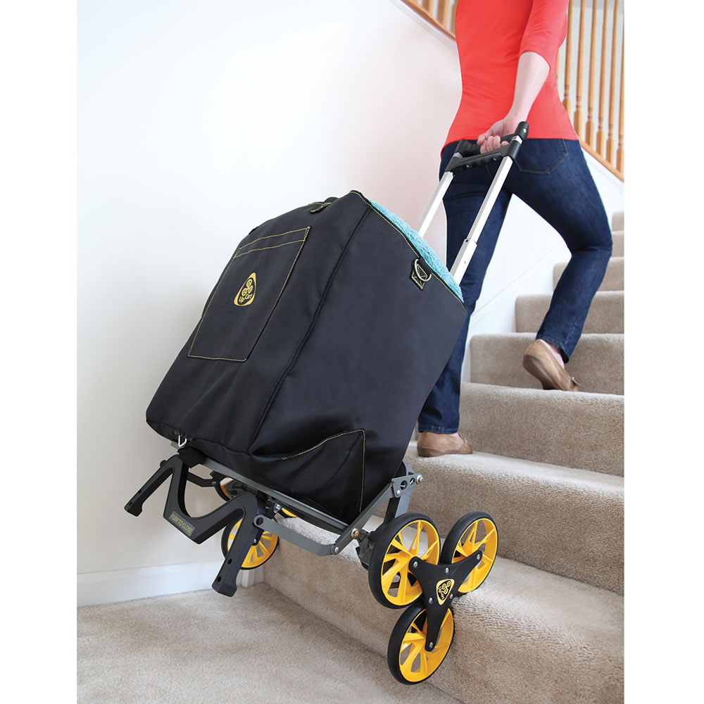 The Stair Stepping Smart Cart Hammacher Schlemmer