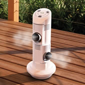 The Evaporative Mist Air Cooler.