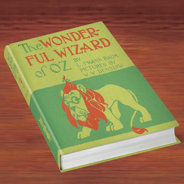 The Exact Reproduction Wizard of Oz Book.
