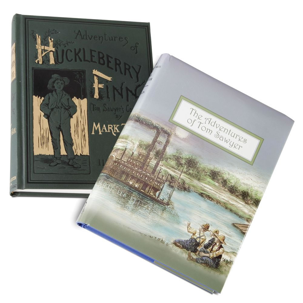 The Exact Reproduction Tom Sawyer And Huckleberry Finn 1