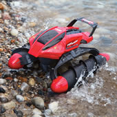 Amphibious Omnidirectional Rc Tank   Red