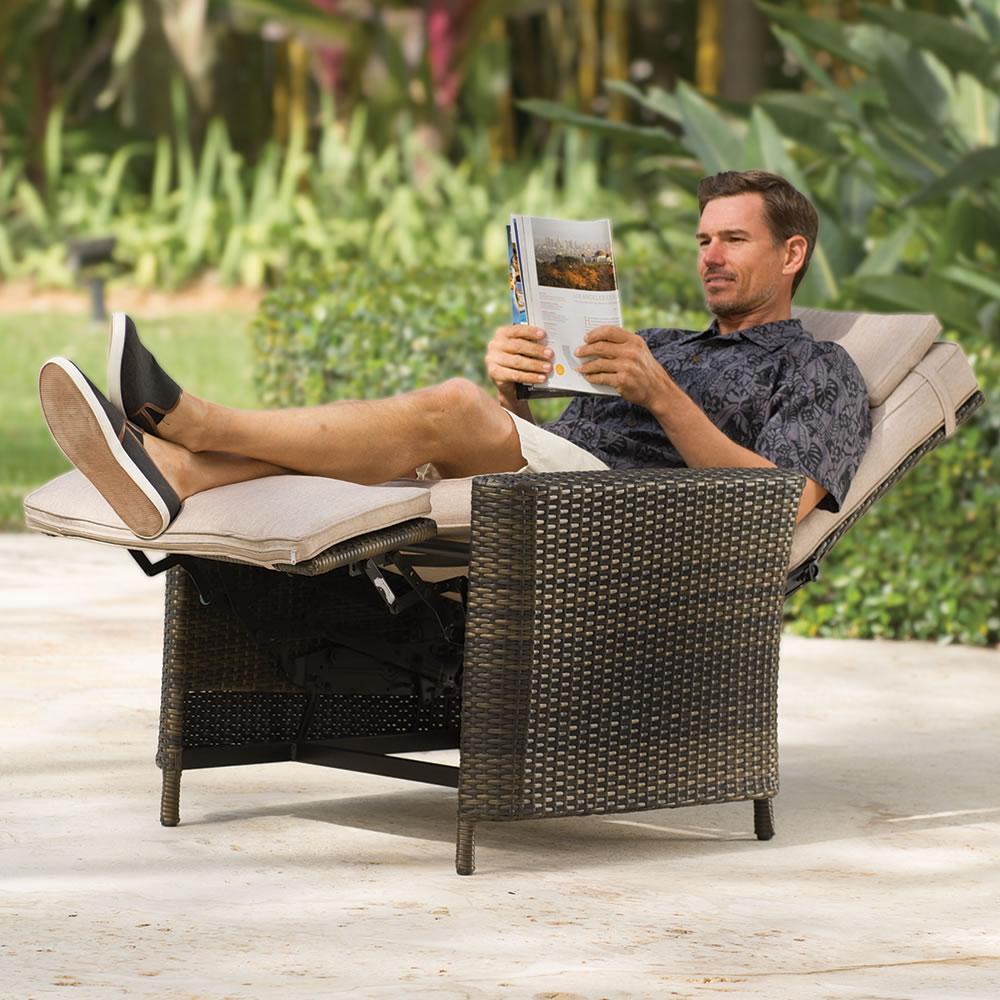 the outdoor recliner - Outdoor Recliner Chair