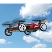 Only Rc Flying Car Red