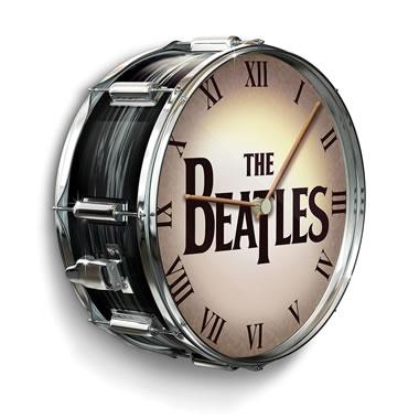 The Beatles Drum Clock