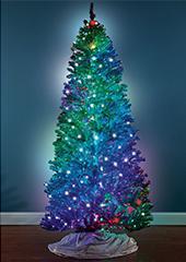The Prismatic Light Show Tree.
