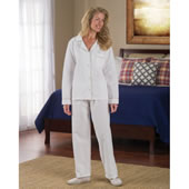 Cotton Seesucker Sleepwear Womens Large