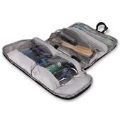 Pack Flat Toiletry Bag Black