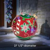 The Joyous Light Show Yard Ornament.