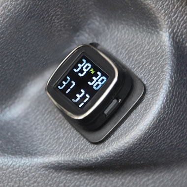 The Remote Sensing Tire Pressure Monitor.