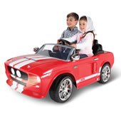 Children's 2 Seater 67 Shelby Gt 500 Red