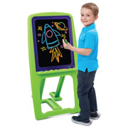 The Young Van Gogh's Illuminated Dry Erase Easel.