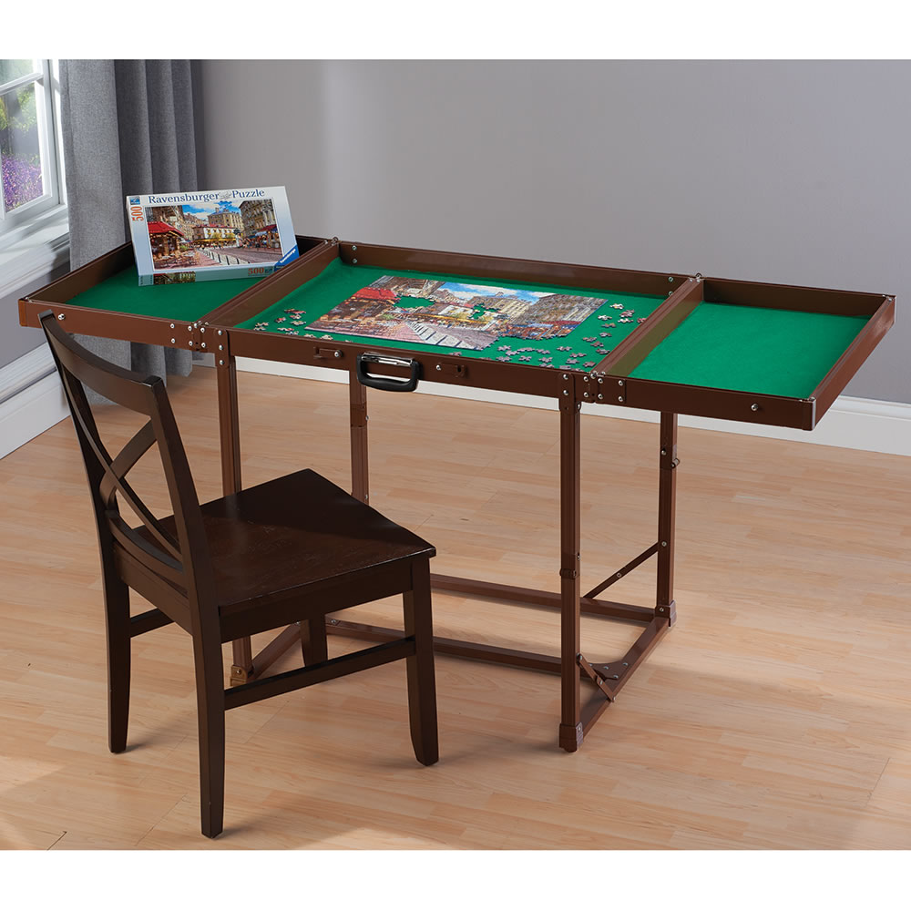 Table Stores: The Easy Fold And Store Puzzle Table