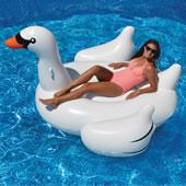 Giant Southampton Swan Float White