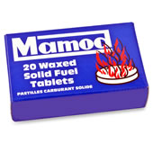 Replacement Fuel Tablets For The Mamod Steamroller.