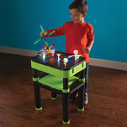The 3D Illuminated Model Building Table.