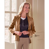 The Lady?s Slim Fit Down Body Warmer.