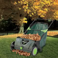 Leaf Collecting Lawn Sweeper Green
