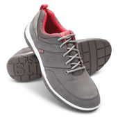 Pf Ladies Suede Sneakers Gray 10