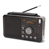 Traveler's Shortwave Radio Black