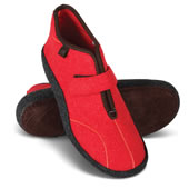 Norwegian Arch Spprtng Booties W Red 10
