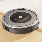 The Superior Suction Roomba 860 Robotic Vacuum.