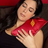 Rechargeable Hot Water Bottle Red