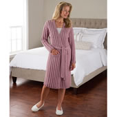 Soft As Cashmere Irish Wool Robe Roe Lrg