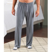 Ultra Soft Luxury Night Pants Gray Lrg