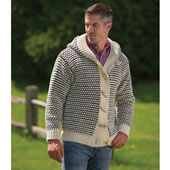 Leicestershire Wool Cardigan Large