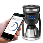 Smartphone Controlled Coffee Maker.