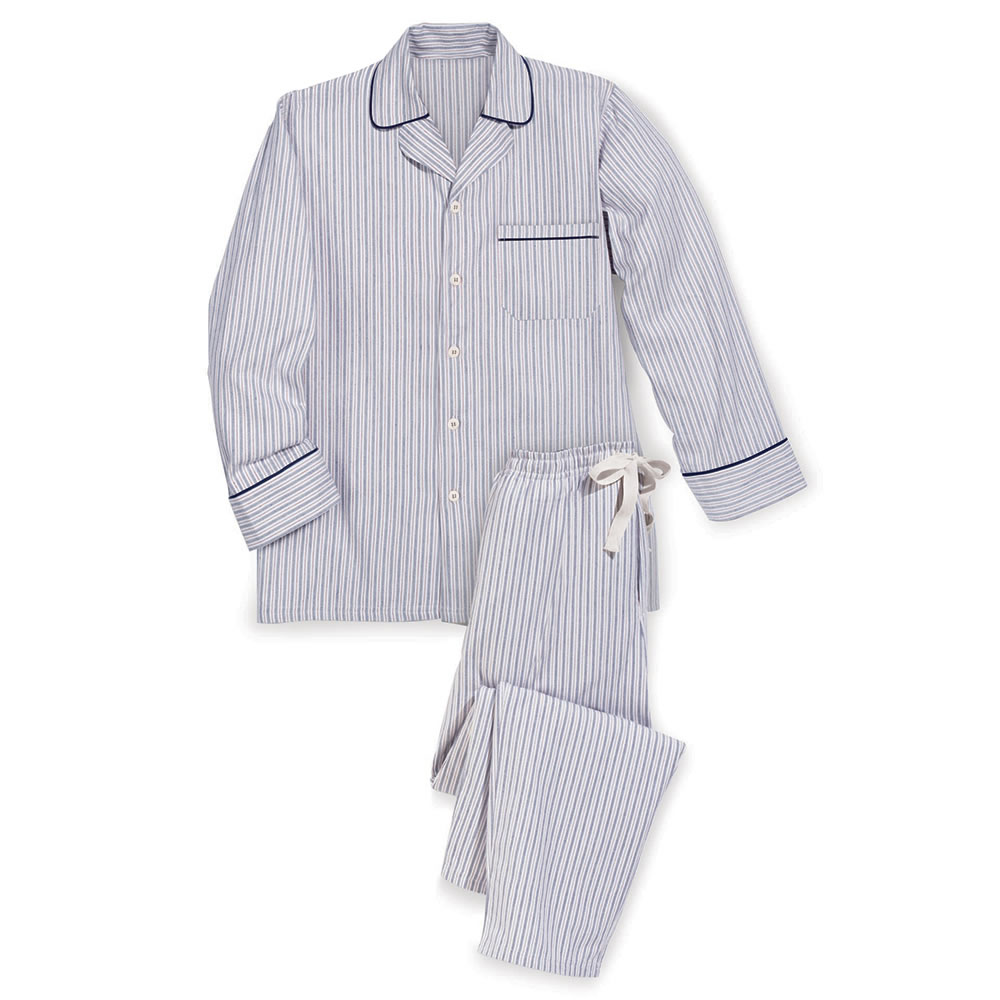 The Irish Flannel Pajamas - Hammacher Schlemmer