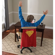 The Would-Be Superhero's Chair Cape.